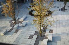 Erweiterung Gemeindehaus · Regensdorf ZH (urban plaza) by phalt Architekten