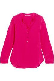 Eva silk crepe de chine blouse