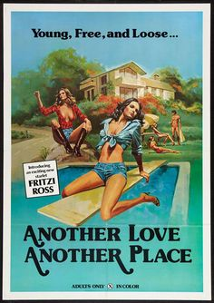 #goldenageofporn #porn #vintage #posters Another love another place
