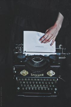 Where To Find Writing Inspiration Writing could and really does serve a motive in so Book Aesthetic, Aesthetic Vintage, Aesthetic Pictures, A Series Of Unfortunate Events, The Secret History, Vintage Typewriters, Writing Tips, Start Writing, Writing Fonts