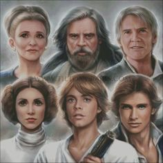 Star Wars Past and Present