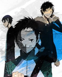 aoba mikado izaya this is only three out of many more babes