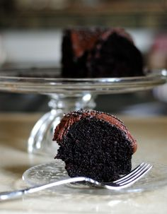 Double Chocolate, Double Guinness Bundt Cake. (I do not drink, just saying.) But I do cook with alcohol on occasion. The alcohol cooks off right? And adds flavor.