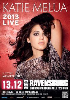 #KatieMelua #MrsGreenbird #Konzert #Oberschwabenhalle #Ravensburg #Bodensee #Musik #ketevan #Tournee