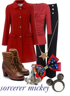 """Sorcerer Mickey"" by princesschandler on Polyvore"