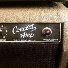 Amplifier Fender concert 1961