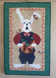 Quilt Kisses: My Quilts ~ First 100: #58 Gardener Bunny