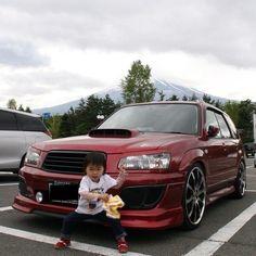 SUBARU Forester SG5 Mt.Fuji Subaru Rally, Rally Car, Subaru Forester Sti, Car Photography, Dream Garage, Impreza, Fuji, Badass, Life Hacks
