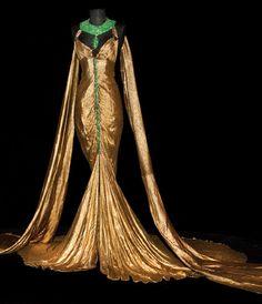 Cleopatra (1934) starring Claudette Colbert & Warren William — Colbert costume designed by Travis Banton.