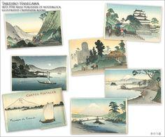 Takejiro Hasegawa Publisher 絵葉書長谷川武次郎明治時代   http://www.kinouya.com
