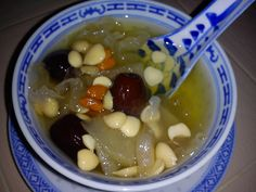 Cooking Pleasure: THERMAL COOKER - PEARS, WHITE FUNGUS SWEET DESSERT... Thermal Cooker, Fungi, Pears, Sweet Desserts, Friday, Oatmeal, Mushrooms, Rolled Oats, Pear Trees
