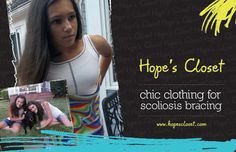 Scoliosis Clothing from Hope's Closet...
