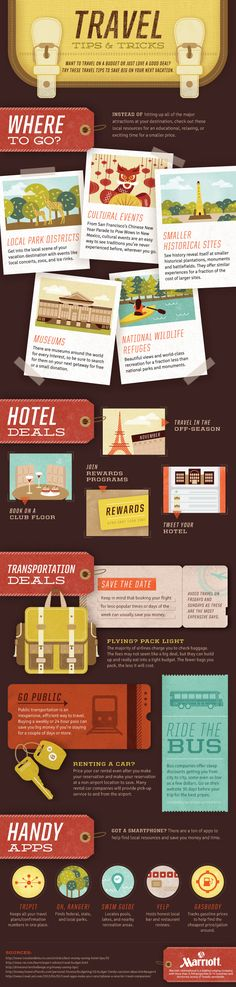 Unique Infographic Design, Travel Tips and Tricks via @kelly_hannah #Infographic #Design #Travel