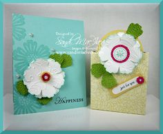 Mixed Bunch stamp and Blossom punch from 2012 Occasions mini catalog