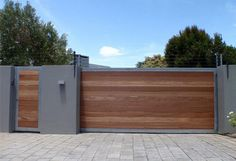 Fence Gate Design, Front Gate Design, House Gate Design, Main Gate Design, Entrance Design, Entrance Gates, Door Design, Gate Designs Modern, Modern Fence Design