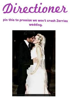 Please don't crash their wedding!