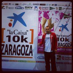 10k Zaragoza... Mi primer 10.000 después de la lesión del tendón de Aquiles...  #running