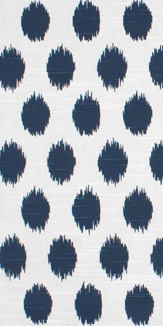 Premier Prints Jo Jo Premier Navy Slub Fabric blue dot ikat ($8.95 yard)