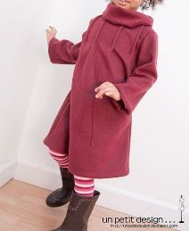 Free pattern: Modern pleated winter playdress for little girls | Sewing | CraftGossip.com