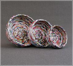 BluReco: papierowa wiklina * paper wicker