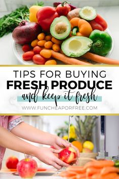 Save money and stop being so wasteful with fruits and veggies! They're a delicious way to get some good nutrients into your family. Use our tips on buying cheap produce that's in season and start eating healthier! Fruit Smoothies, Healthy Smoothies, Freezing Fruit, Registered Dietitian Nutritionist, Save On Foods, Types Of Fruit, Sweet Potato Breakfast, Food Hacks, Food Tips