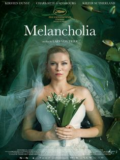 Melancholia est un film de Lars von Trier avec Kirsten Dunst, Charlotte Gainsbourg. Synopsis : À l'occasion de leur mariage, Justine et Michael donnent une somptueuse réception dans la maison de la soeur de Justine et de son beau-frère. Pendant