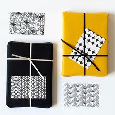 Gift tags met patronen - Jessica Nielsen - BijzonderMOOI* - Dutch design