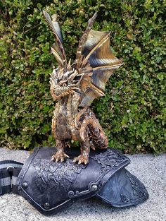 Custom Shoulder Dragon Made to Order (Currently not Available)