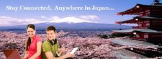 Stay connected, Anywhere in Japan. visit: http://bit.ly/docomocard