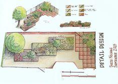 Small Garden Design Pictures - Native Home Garden Design English Garden Design, Zen Garden Design, Garden Design Plans, Vegetable Garden Design, Garden Art, Small Garden Plans, Backyard Ideas For Small Yards, Small Backyard Design, Small Front Gardens