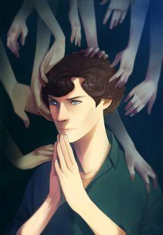 BBC+Sherlock+-+hands+by+y0do.deviantart.com+on+@deviantART