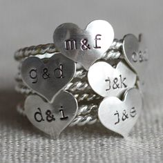 simple true love ring, a sweet gift for early days in a relationship, or young love