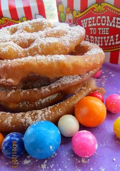 chica chocolatina: Sweet Churro Funnel Cake