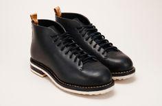 Hiker Mid Men's Leather Boot Marine – FEIT