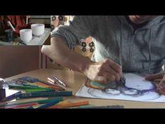 クリスタルボウルと塗り絵 - YouTube