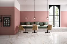 BOLD | WHITE - Ceramic tiles from Marca Corona | Architonic Arch Interior, Interior Barn Doors, Interior Design, Hotels, Italian Tiles, Style Tile, Wall Cladding, Hospitality Design, Modern Spaces