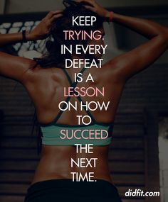 Try, Learn, Succeed!    www.fitnessdojo.org