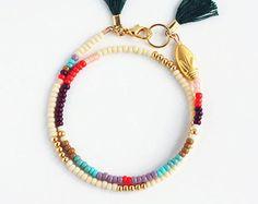 Cadeau pour elle Friendship Bracelet Bracelet de par feltlikepaper