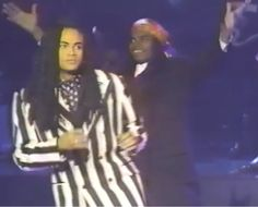 Milli Vanilli / March 14, 1990  at The Soul Train Awards 1990 / Blame It On The Rain