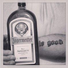 Jägermeister is good