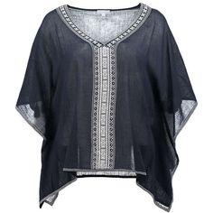 STAR MELA Baumwolltop 'Mattiemb' ► Das Shirt MATTIEMB von STAR MELA ist aus reiner Baumwolle gefertigt. Mit farblich abgesetzten Stickereien, V-Ausschnitt und lockererem Schnitt ist das Stück im Boho-Style ein absolutes Must-Have für den kommenden Sommer.