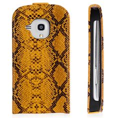Snake Skin Pattern Design Premium Samsung Galaxy S4 i9500 Wallet Protective Case Cover Dark Yellow $5.39 #samsungcase #galaxyS4 #samsung #covercases #protectivecase #snakecase #cheapcases #galaxyS4case #android #cellz.com #bestcases #freeshipping #discount #promotioncases #fashion #smartphone #accessories