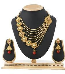 Buy Traditional Chain Necklace Set Wedding Jewellery Online