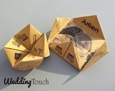 Faire-part naissance style cocotte papier kraft Kraft Paper, Invitations, Etsy, Grands Parents, Design Graphique, Crafts, Origami, Bb, Scrapbooking