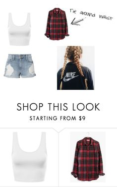 """Summer #2"" by bre-winter ❤ liked on Polyvore featuring Madewell and Frame"