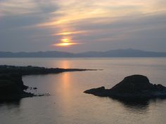 Rishiri island, Japan, 2008 Places Ive Been, Japan, Island, Celestial, Sunset, Outdoor, Outdoors, Islands, Sunsets