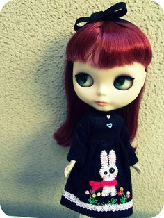 Blythe Doll- me with red hair