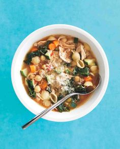 Rustic Chicken Minestrone Recipe