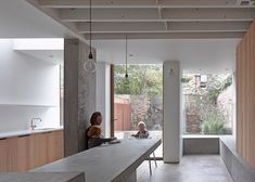 McLaren Excell adds a concrete extension to a Victorian home