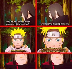 That day Itachi liked him!